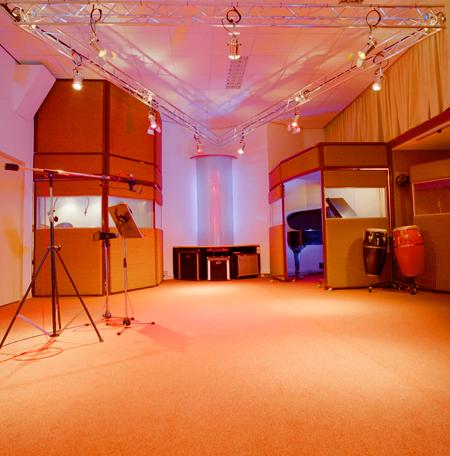 foto's zijkant studio